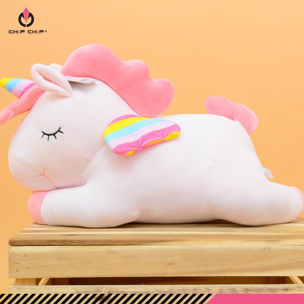 Gấu bông ngựa pony nằm 2 size