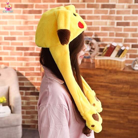 Nón vẫy tai pikachu