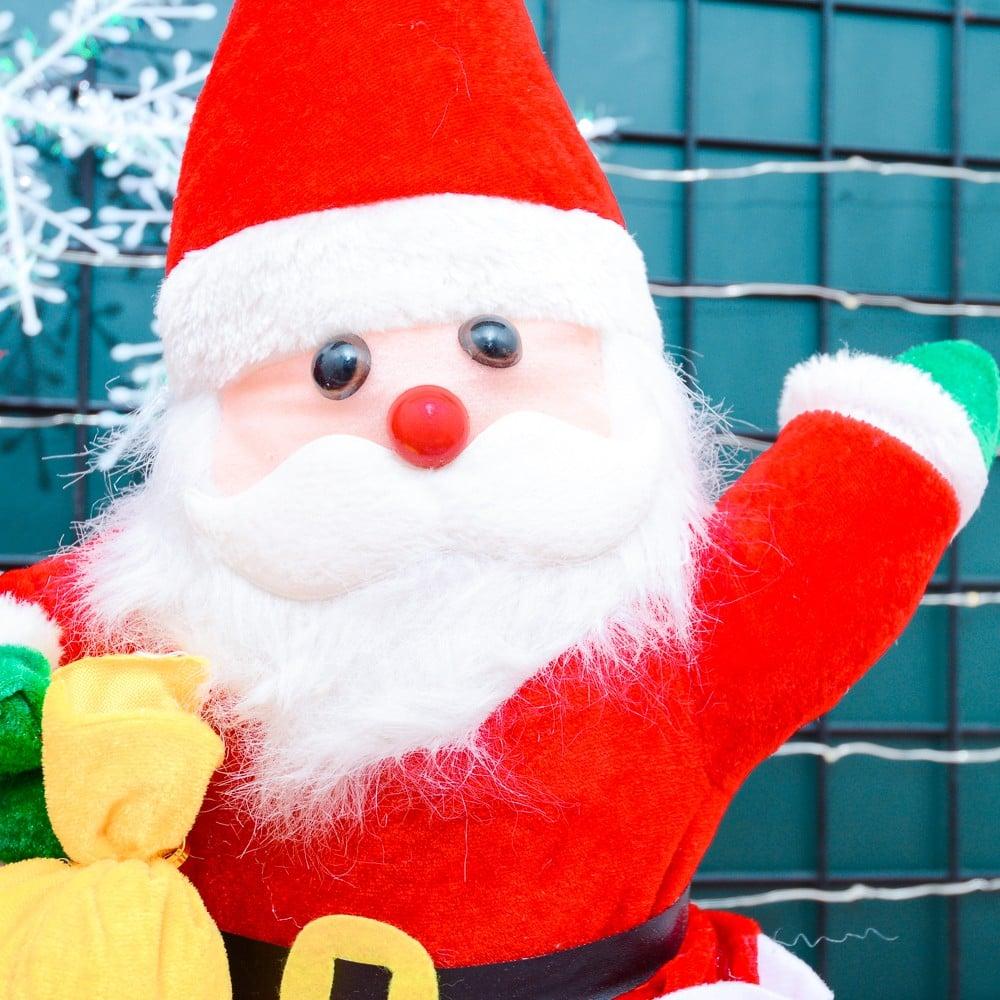 Ông già Noel cao 50cm phụ kiện Noel
