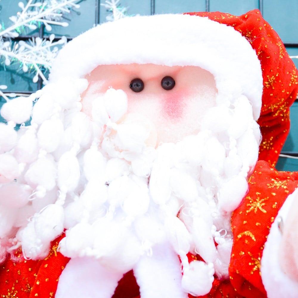 Ông già dù 70cm phụ kiện Noel