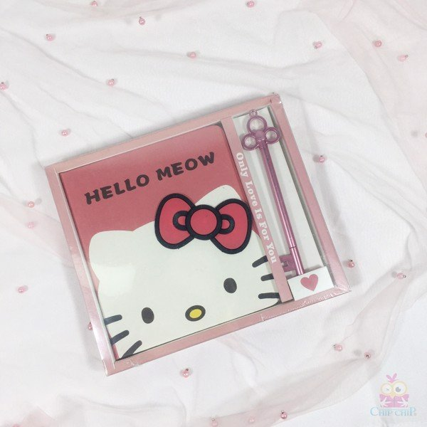 Sổ hello kitty