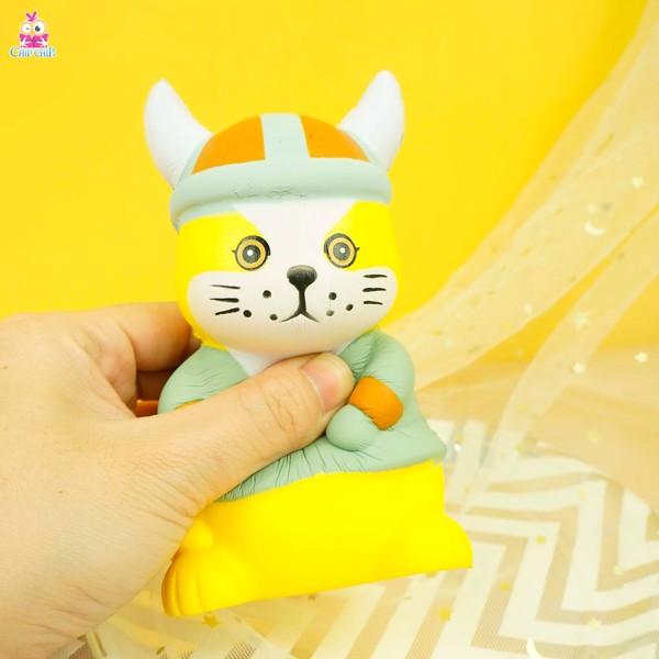 Squishy mèo nón sừng
