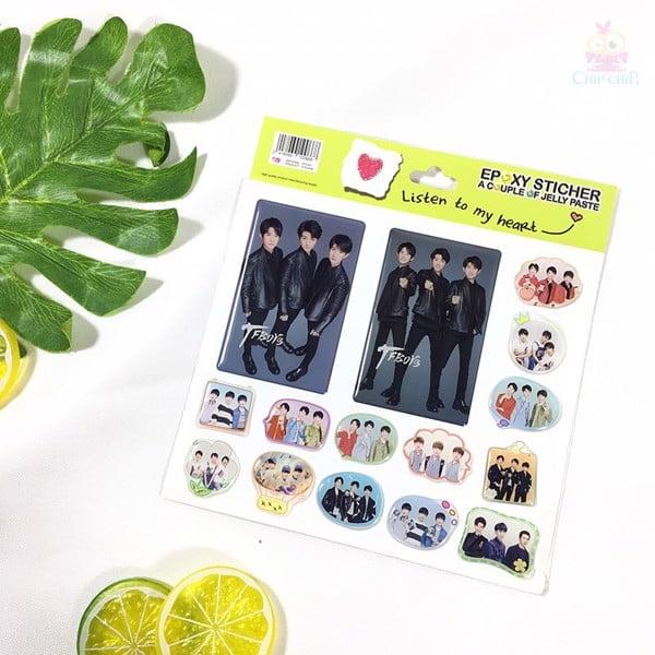 Sticker nhựa TF boy