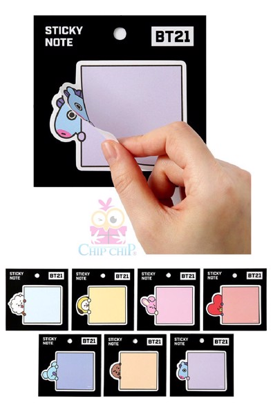 Sticker note Chimmy