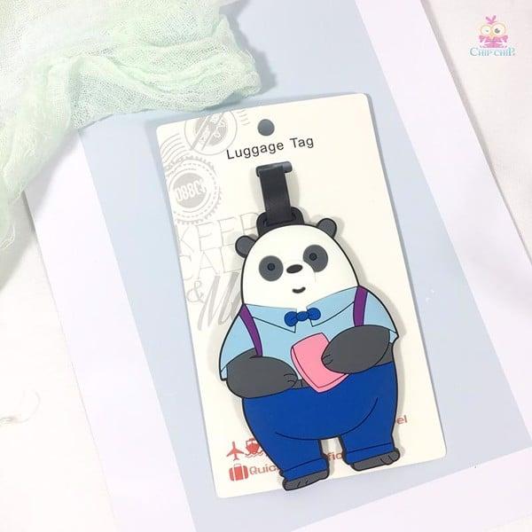 Tag treo vali panda
