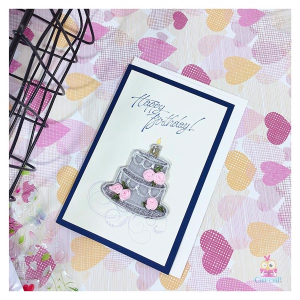 Thiệp sinh nhật handmade