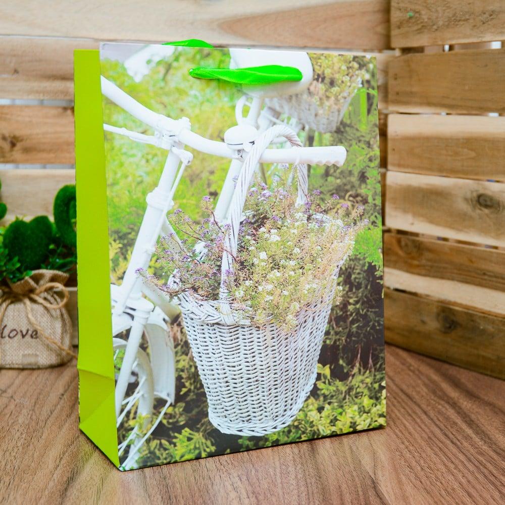 Túi quà giấy xách xe đạp lớn