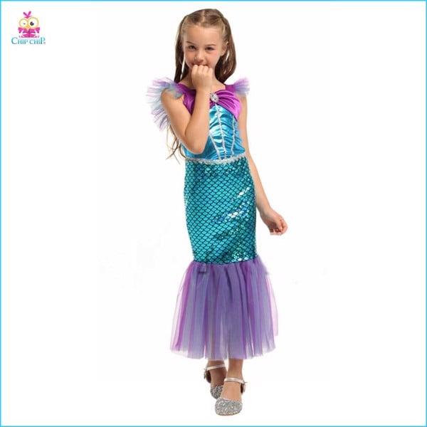 Váy nàng tiên cá mermaid girl