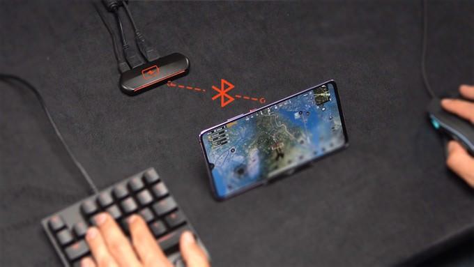 GAMO G+: Bộ chuyển đổi chuột và bàn phím chơi game trên điện thoại