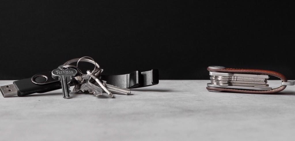 Móc chìa khóa đa năng Keysmart Leather