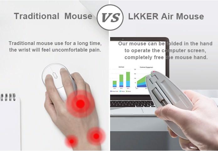 LKKER - Chuột máy tính gấp gọn - Điểm 10 cho buổi thuyết trình