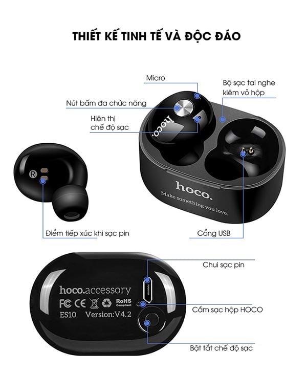 Tai nghe Bluetooth Hoco ES10