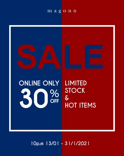 ONLINE ONLY - 30% | LIMITED STOCK & HOT ITEMS
