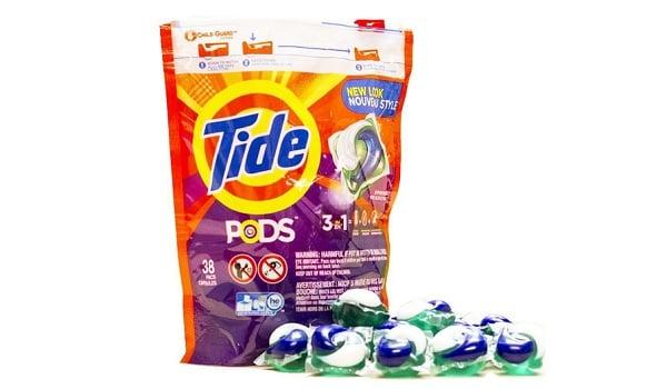 Hướng dẫn sử dụng viên giặt quần áo Tide Pods