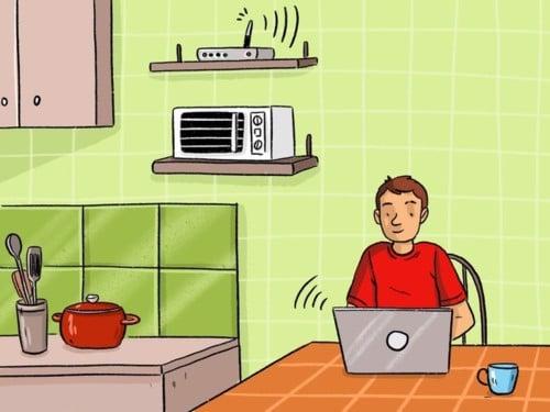 Trong nhà có 7 vật dụng này bảo sao Wifi cứ chập chờn mãi