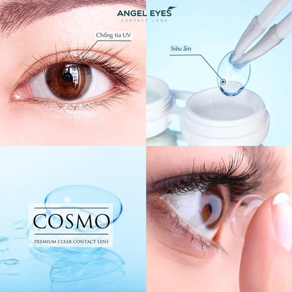 LENS TRONG SUỐT CẬN COSMO