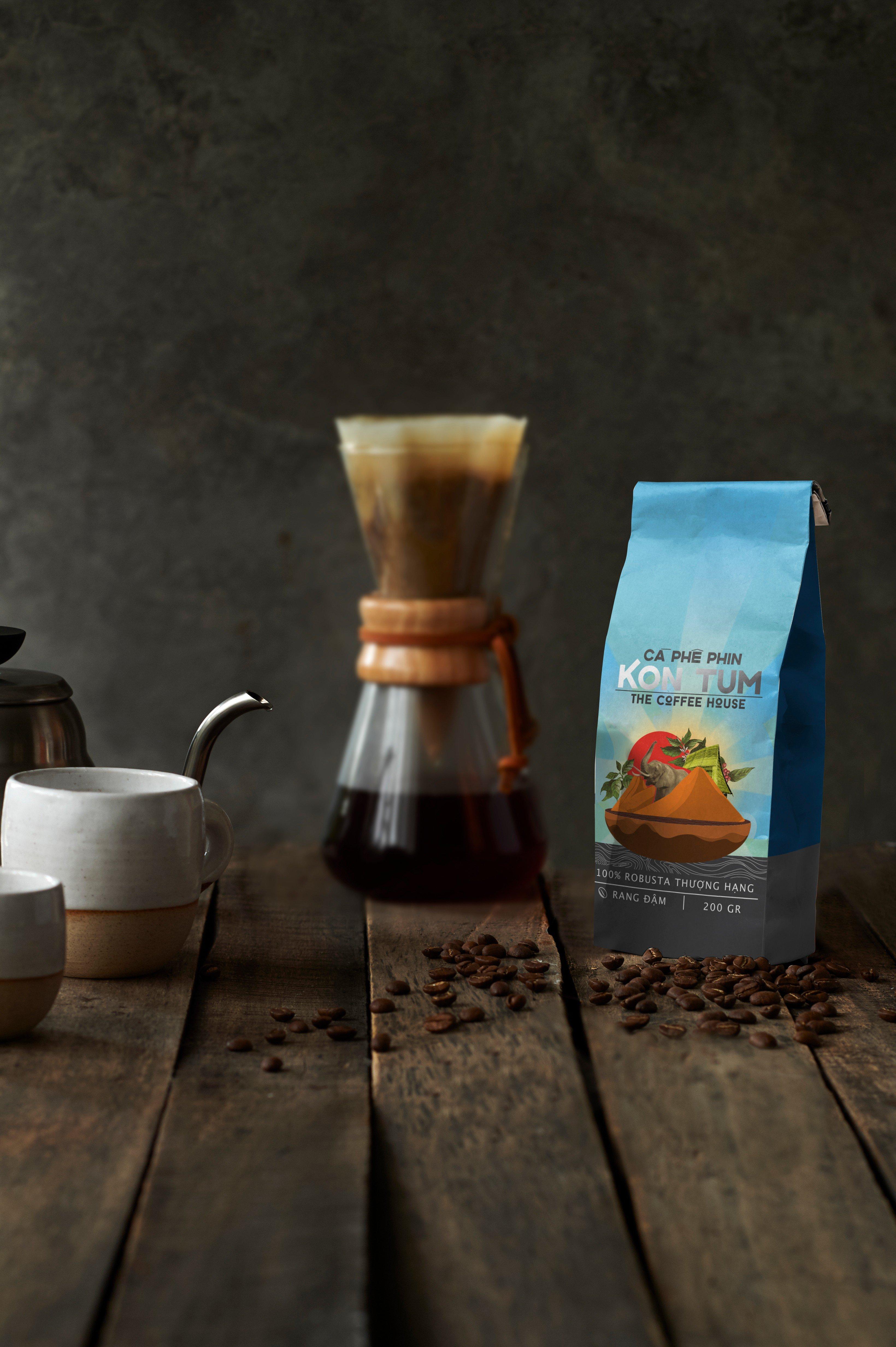 Cà phê gói Kontum