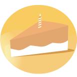 Tặng 1 phần bánh nhân ngày sinh nhật