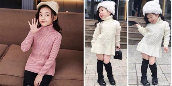 Nhẹ nhàng, điệu đà cùng áo len và chân váy dài