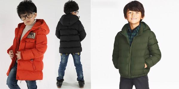Các mẫu áo phao giữ ấm cơ thể bé tốt trong ngày đông