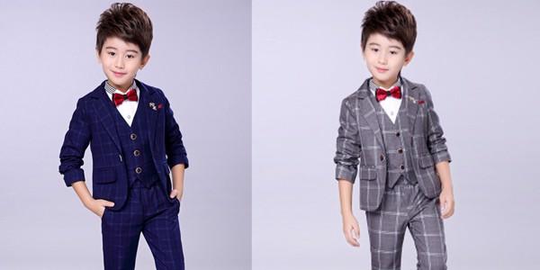 Những mẫu áo vest đẹp và sang trọng cho bé nam