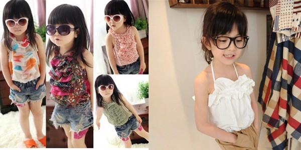 Những mẫu áo yếm xinh đẹp cho bé gái
