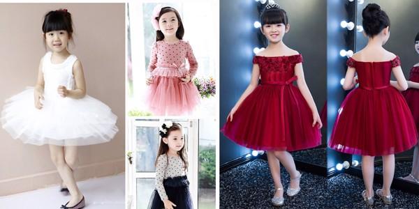Áo đầm cho bé đáng yêu, dễ thương