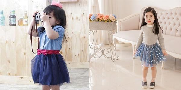 Chọn lựa chất liệu vải là rất quan trọng khi mua áo đầm cho con