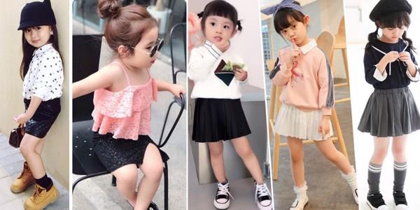 Mẹ ơi hãy chọn chân váy làm điệu cho bé nào