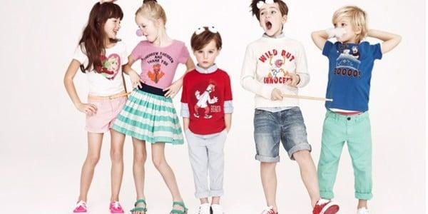 Quần áo trẻ em mẫu mã đa dạng