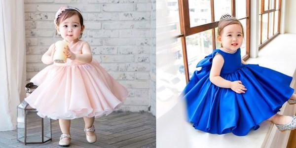 Chiếc đầm nhỏ xíu đến dáng yêu vô cùng