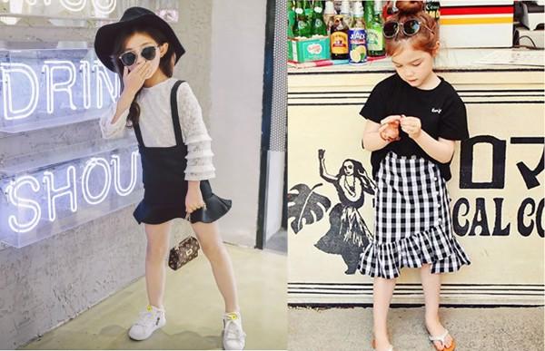 Chân váy đuôi cá có thể kết hợp được với rất nhiều kiểu áo thời trang.
