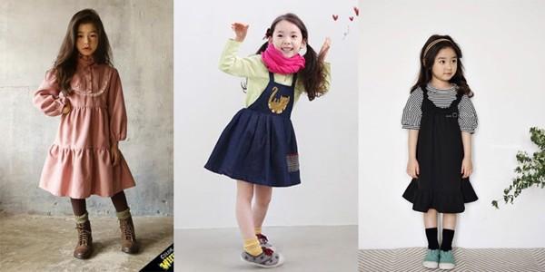 Chắc chắn cô con gái của mẹ sẽ thích những chiếc đầm Hàn Quốc