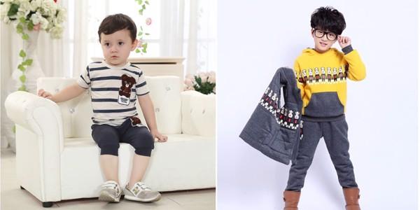 mẫu đồ bộ này sẽ khiến các bé trông dễ thương