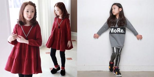 Mua đồ lạnh bé gái mẹ nên chọn thương hiệu thời trang uy tín