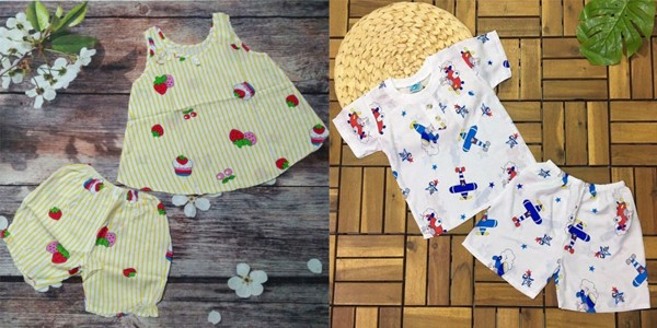 vải tôn các mẹ có thể dễ dàng kết hợp cho bé