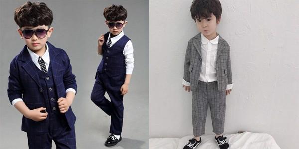 Những mẫu đồ vest cho bé trai 3 4 tuổi