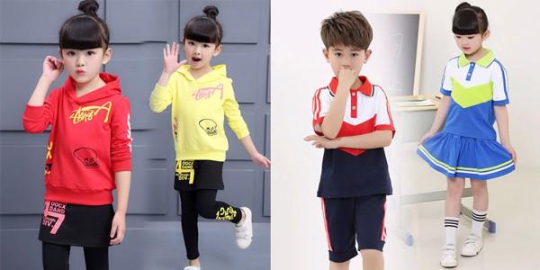 Con cảm thấy thoải mái với quần áo thể thao trẻ em
