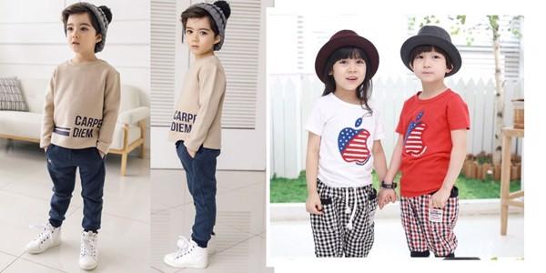 Áo len là quần áo trẻ phù hợp với thời tiết se lạnh