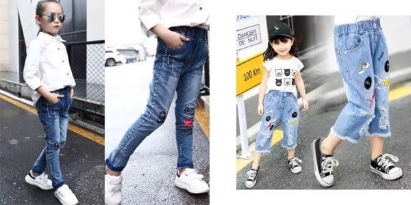 Bé Gà Mèo - chuyên cung cấp quần jean bé trai bé gái siêu cute