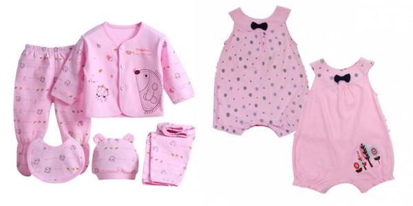 Ưu tiên chọn các gam màu set đồ sơ sinh cho bé gái nhã nhặn