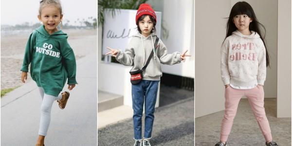bé phát huy sự sáng tạo trong phong cách trang phục