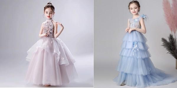 Mẫu váy highlow mang phong cách hiện đại sang trọng