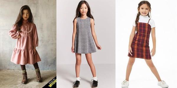 Các mẫu váy bé gái hàn quốc cực xinh xắn mà mẹ nhìn là mê tít lên