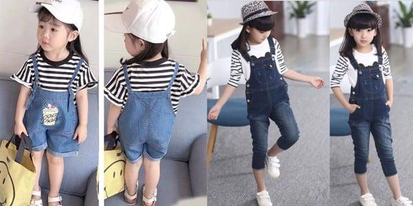dễ dàng chọn được cho bé trang phục phù hợp nhất