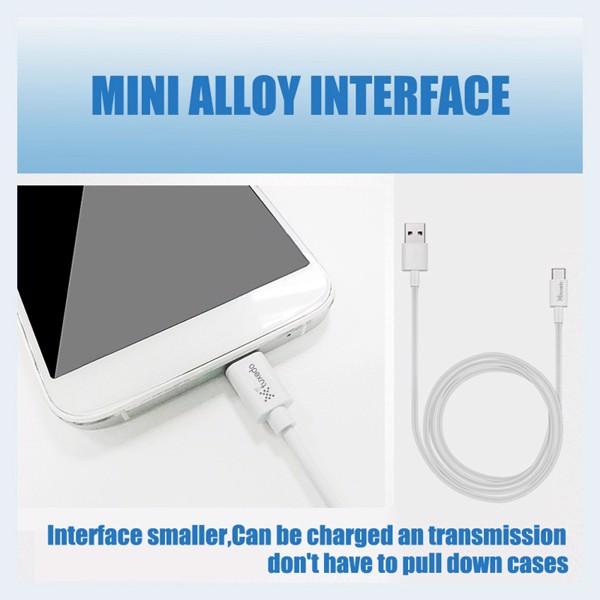 Dây cáp sạc điện thoại Tuxedo Micro USB Data Cable 1M