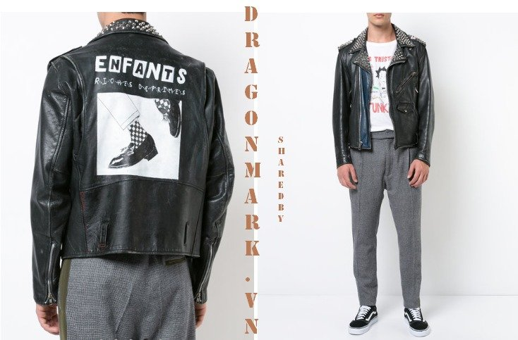 5-Enfants-Riches-Déprimés-Studded-Biker-Jacket