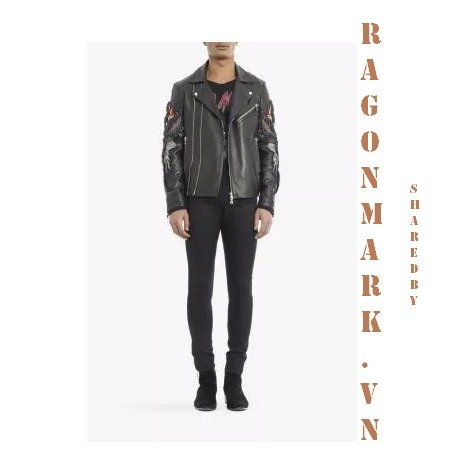 6-Balmain-Embroidered-Leather-Jacket