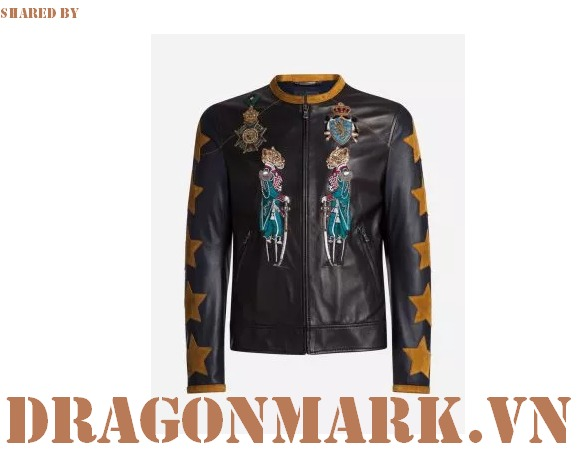 8-Dolce-&-Gabbana-Leather-BomberJacket-with-Patches