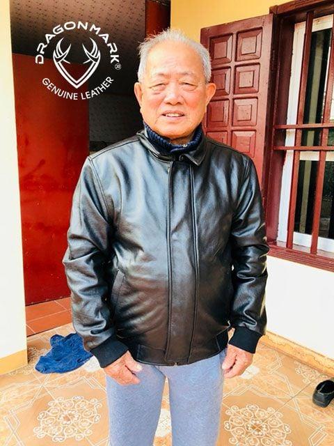 áo da người lớn tuổi